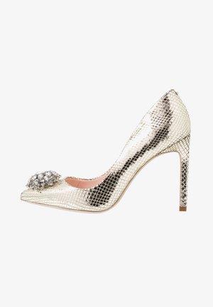ELANNAM - High heels - bronze