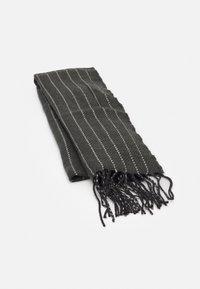 Burton Menswear London - PINSTRIPE SCARF - Scarf - grey - 0