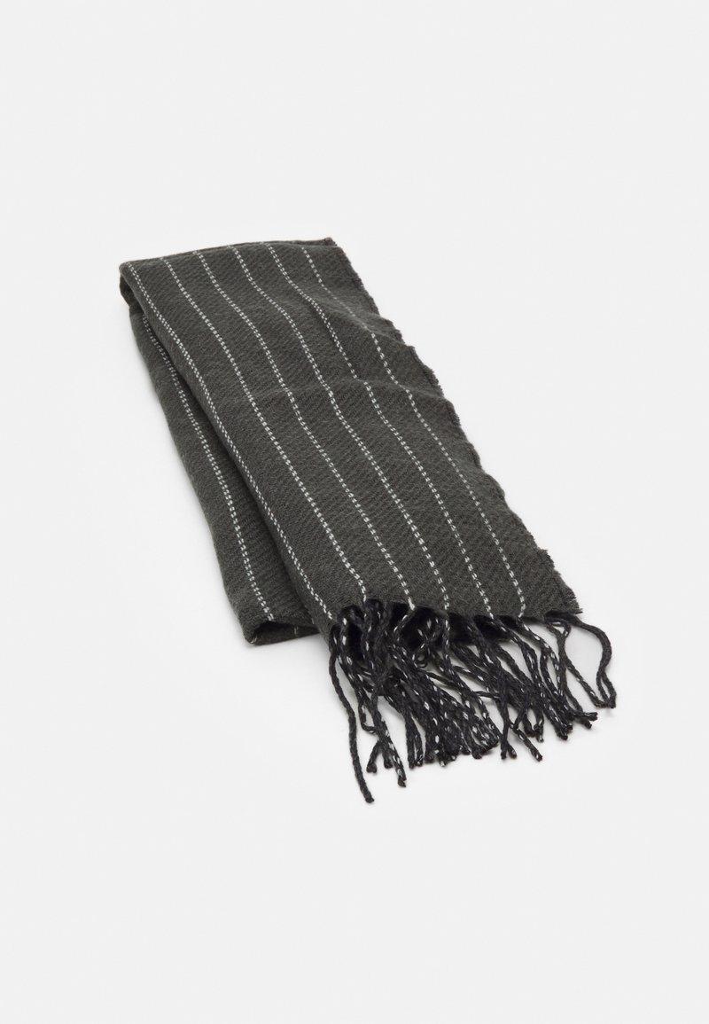 Burton Menswear London - PINSTRIPE SCARF - Scarf - grey