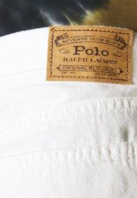 Polo Ralph Lauren - FURMAN WASH - Shorts di jeans - white - 4