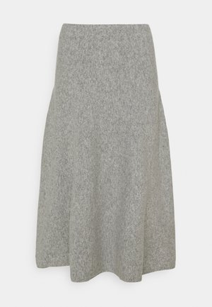 CACHI - Áčková sukně - mittelgrau