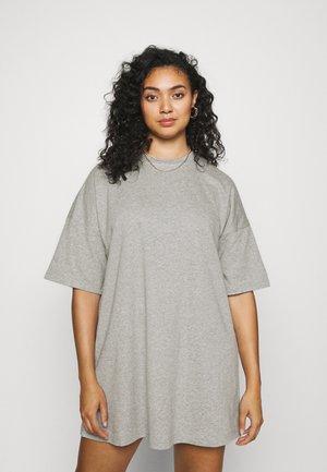 PCCHILLI SUMMER DRESS - Day dress - light grey melange