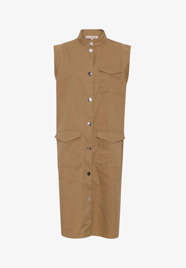 SMILLA - Korte jurk - beige