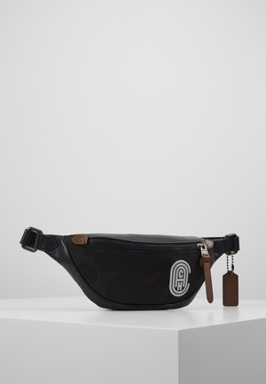 RIVINGTON BELT BAG WITH PATCH - Bum bag - black wild beast