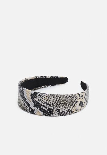 Hair styling accessory - black /off-white/yellow