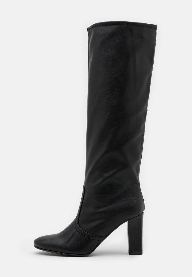 BOOT  - Laarzen met hoge hak - black