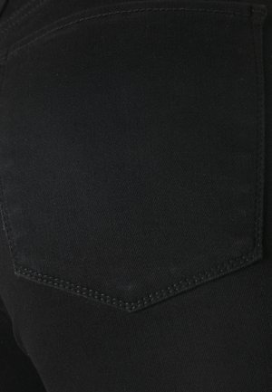 KNEE SLIT ANKLE - Jeans Skinny Fit - black