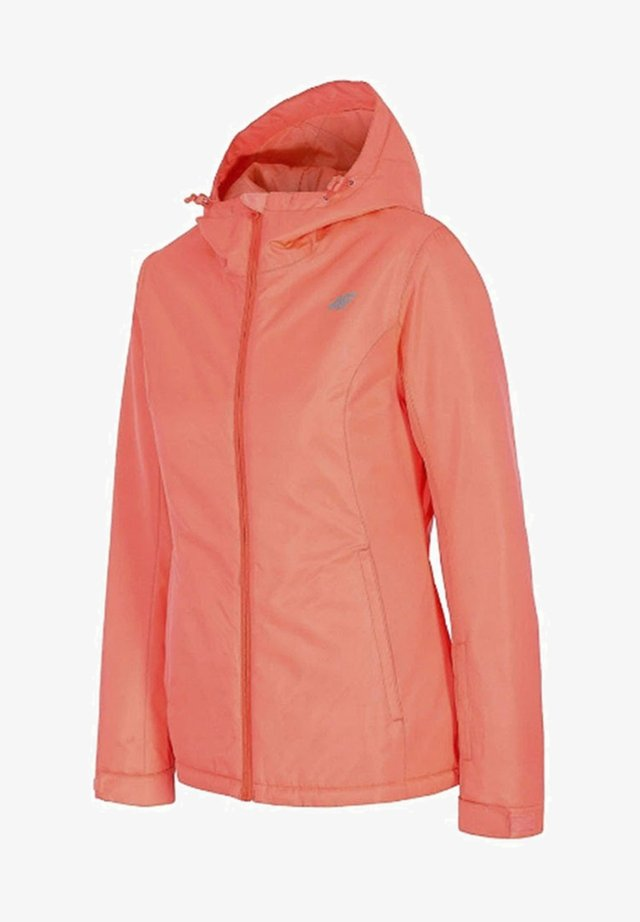 Ski jacket - salmoon coral