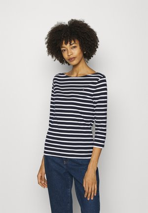 AISHA BOAT - Long sleeved top - white/desert sky
