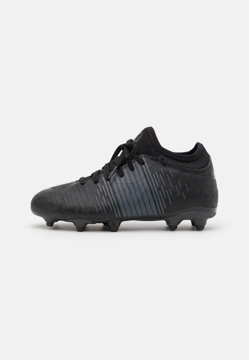 Puma - FUTURE Z 4.1 FG/AG JR UNISEX - Moulded stud football boots - black/asphalt