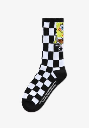 BY VANS X SPONGEBOB CREW BOYS (1-6, 1PK) - Sukat - spongebob checkerboard