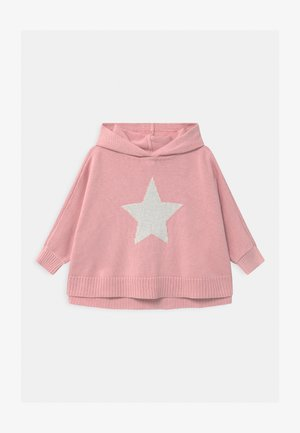 TODDLER GIRL PONCHO - Sweter - pure pink