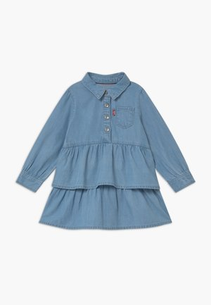 TIERED DENIM  - Vestito di jeans - blue denim