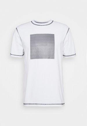 DIZZY TEE - T-shirt med print - white