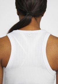Cotton On Body - LIFESTYLE RACER TANK - Top - white - 3