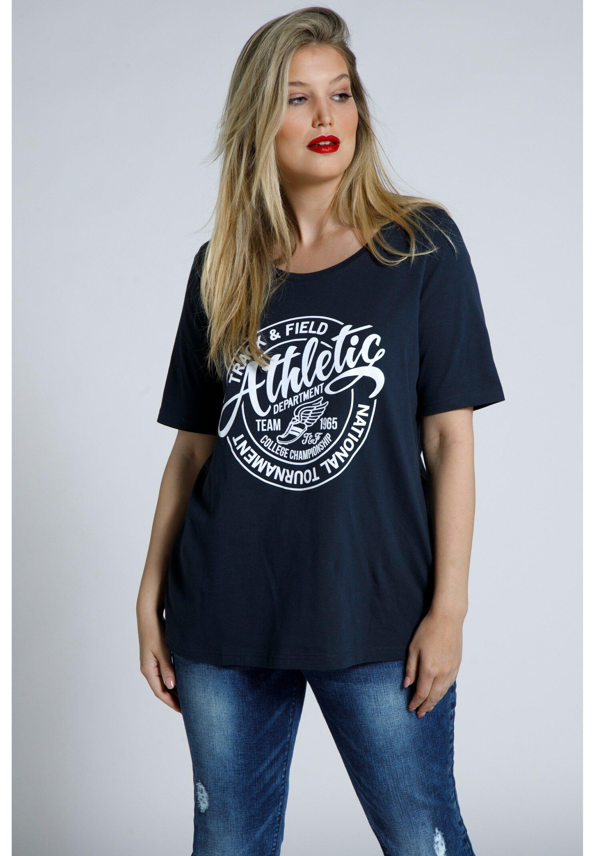 Damen ATHLETIC, CLASSIC, RUNDH - T-Shirt print