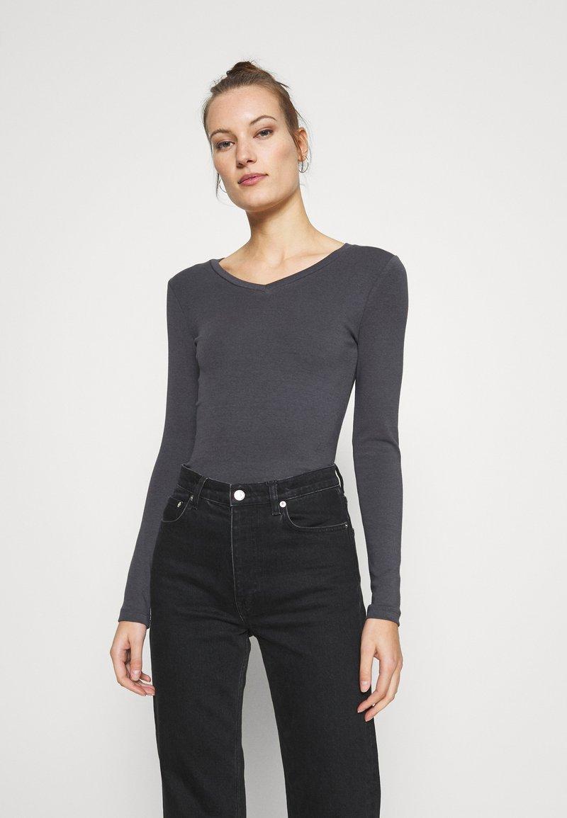 Zign - Long sleeved top - mottled grey