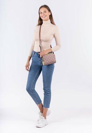 ANASTASIA KOMBI - Across body bag - darktaupe