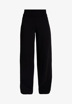 JENNA WIDE LEG TROUSERS - Bukse - black