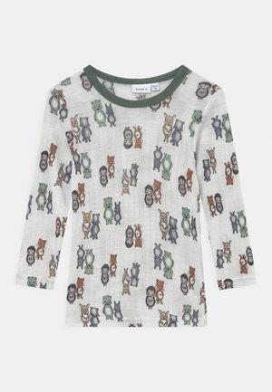 NMMWANG  - Camiseta de manga larga - snow white