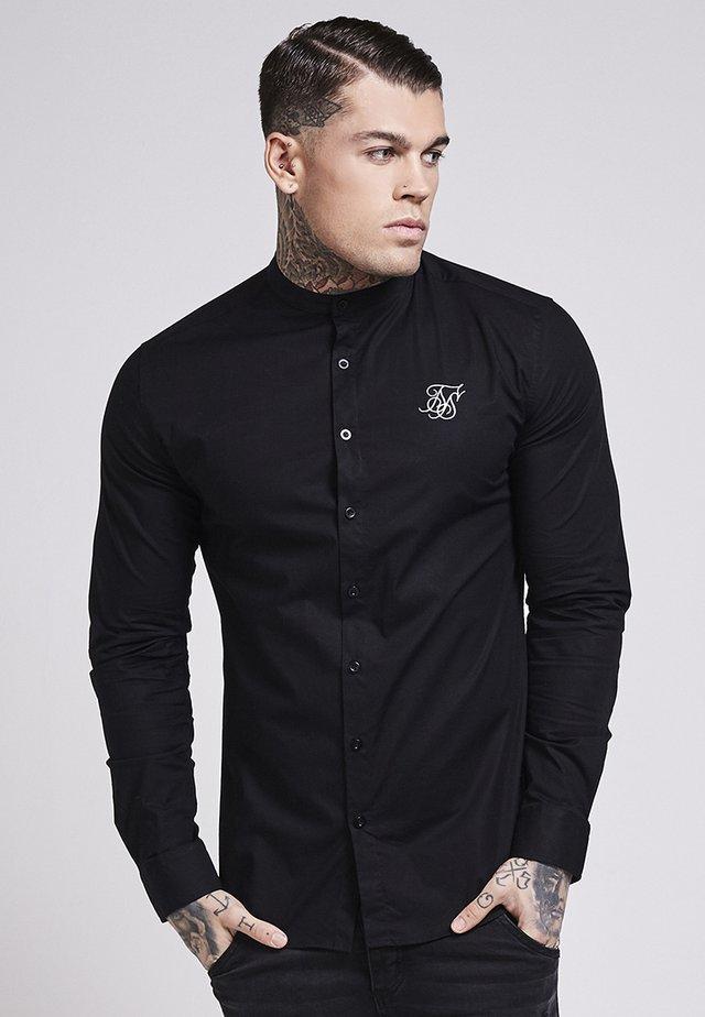 OXFORD STRETCH FIT - Shirt - jet black