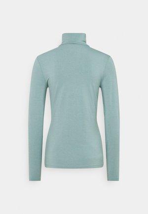 Strikpullover /Striktrøjer - grey blue
