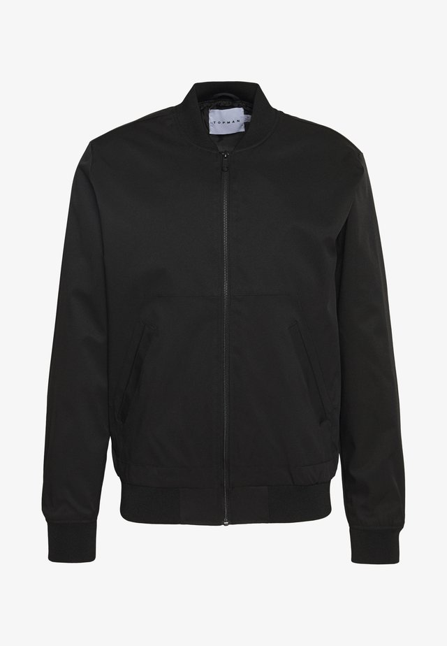 ICONIC REPEAT - Giubbotto Bomber - black