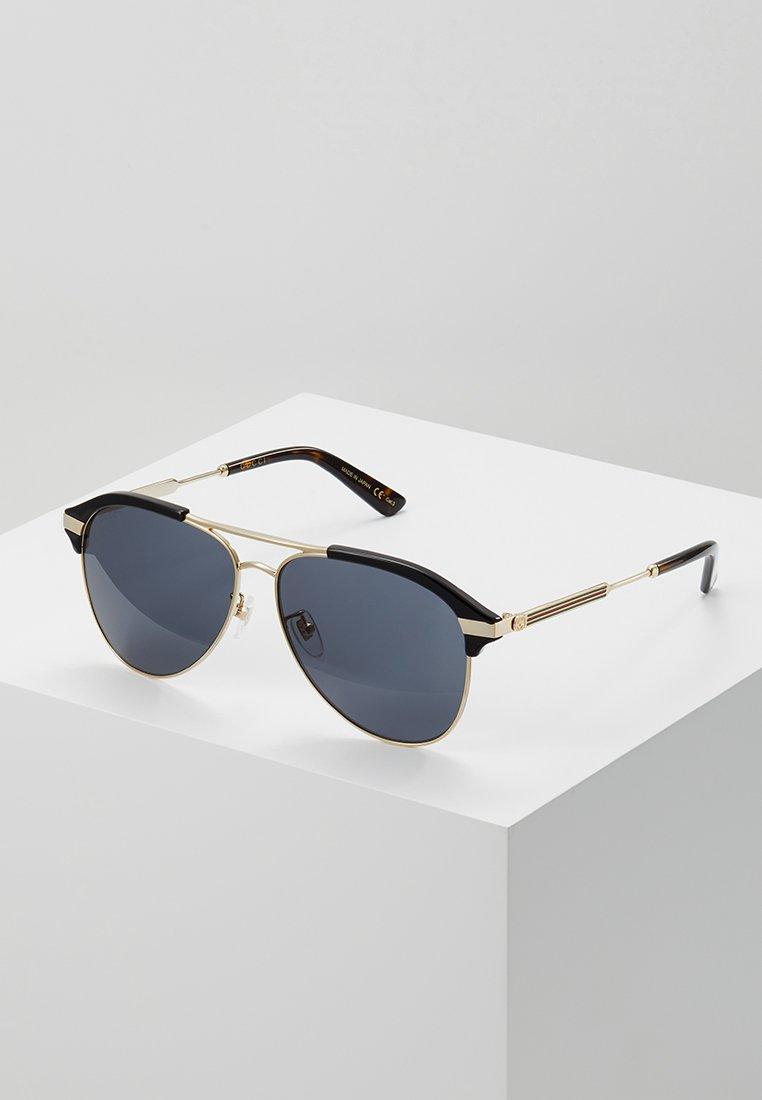 Gucci - Sunglasses - black/gold/grey
