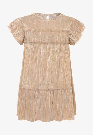 JANELLE DRESS NEW SHIMMER - Vestito elegante - gold