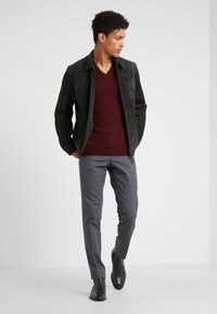 J.LINDEBERG - GRANT  - Trousers - dark grey - 1