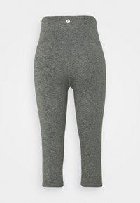 Cotton On Body - SO PEACHY CAPRI - Leggings - black marle - 7