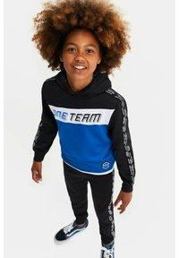 WE Fashion - MET COLOURBLOCK - Sweatshirt - blue - 0