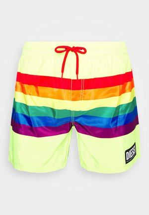 WAVE - Swimming shorts - yellow