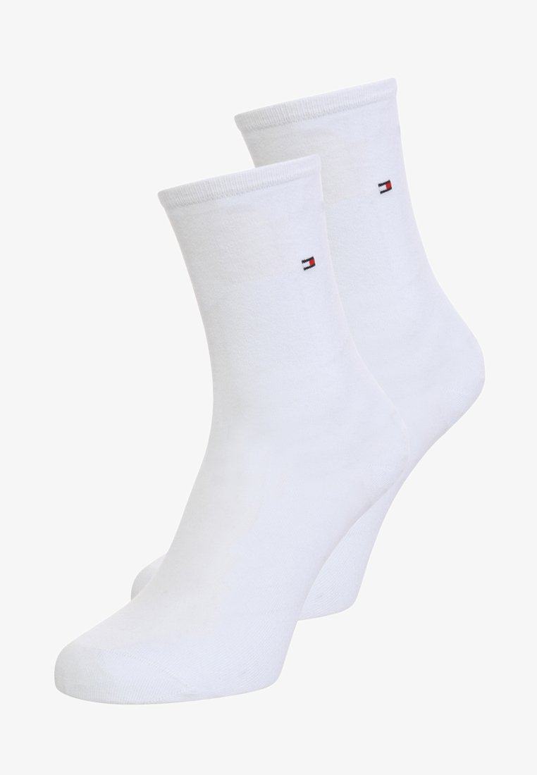 Tommy Hilfiger - WOMEN SOCK CASUAL 2 PACK - Skarpety - white