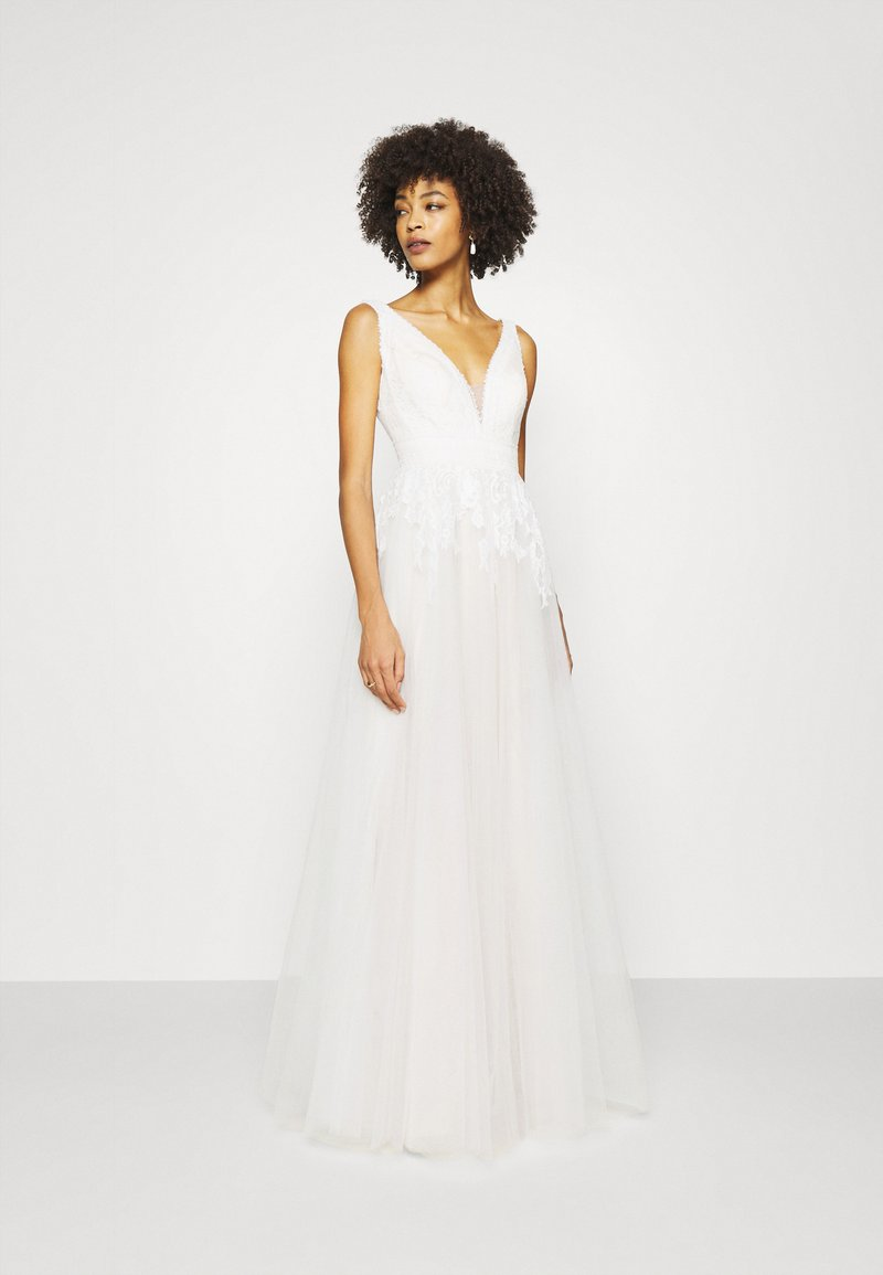 Luxuar Fashion - Occasion wear - ivory/nude