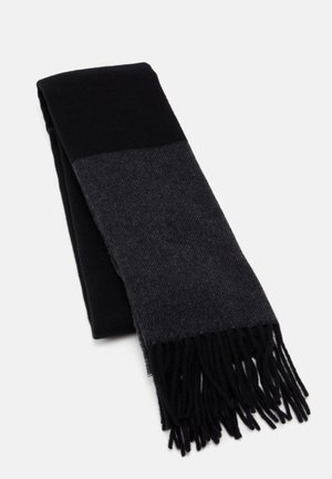 Scarf - black/charcoal