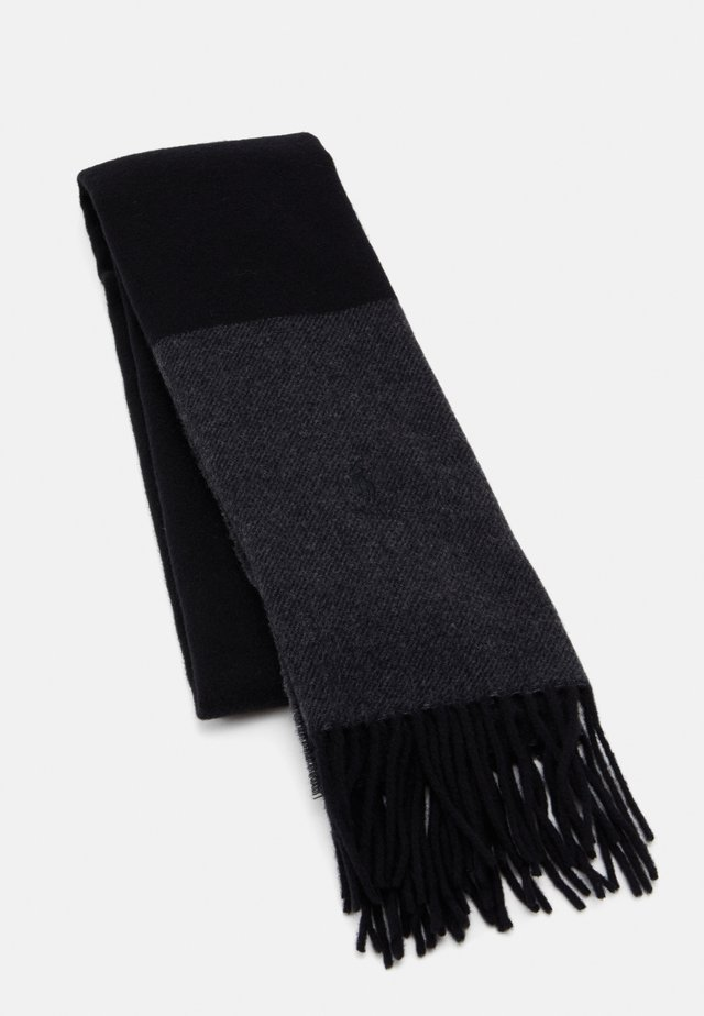 Scarf - black/charcoal