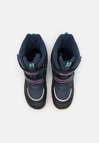 Kappa - TEX UNISEX - Winter boots - navy/pink - 3