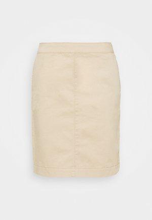 SOFALA - Pouzdrová sukně - safari