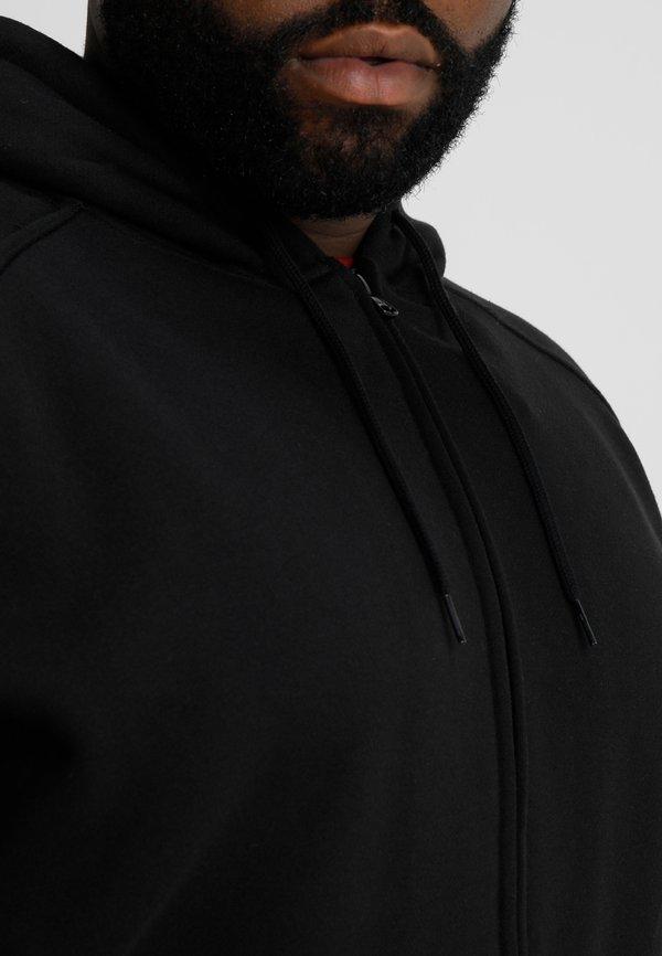 Urban Classics ZIP HOODY - Bluza rozpinana - black/czarny Odzież Męska TDHT