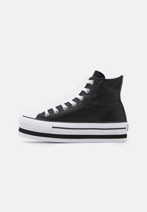 CHUCK TAYLOR ALL STAR PLATFORM LAYER - Zapatillas altas - black/white