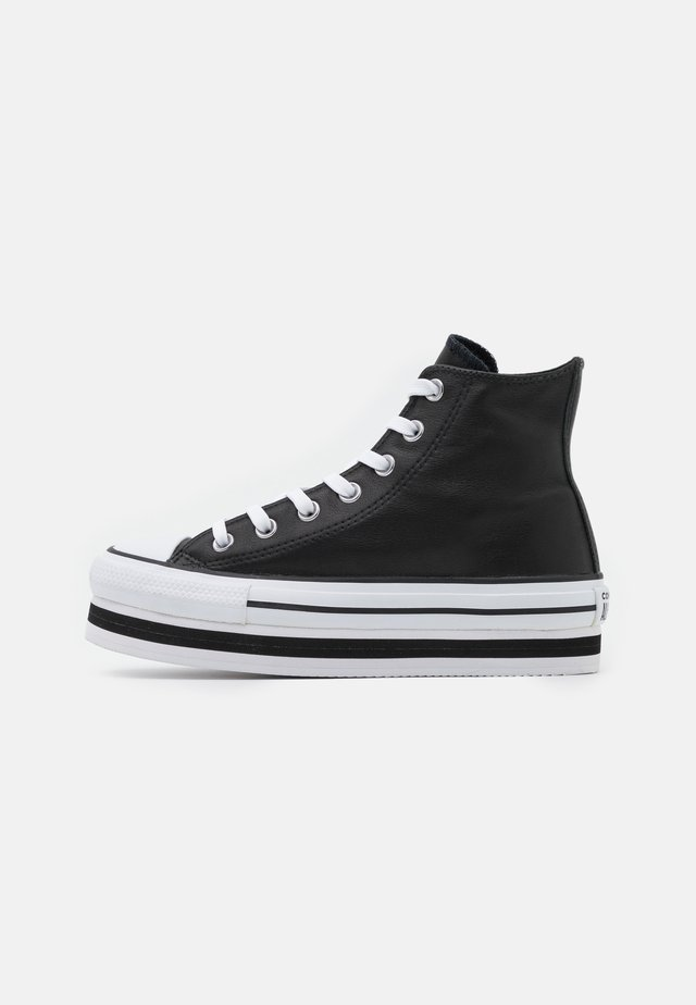 CHUCK TAYLOR ALL STAR PLATFORM LAYER - Baskets montantes - black/white