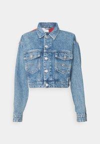 Tommy Jeans - CROP TRUCKER JACKET - Džínová bunda - denim light - 3