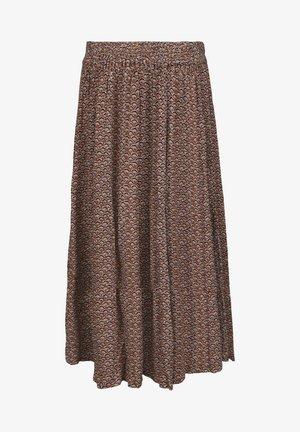 DELAILA  - A-line skirt - hazel sea shell print