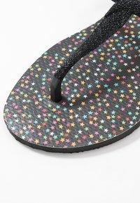 Havaianas - TWIST CARNAVAL - Pool shoes - black - 2
