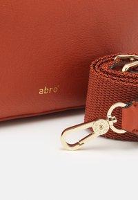 Abro - TINA BIG - Across body bag - orange - 3