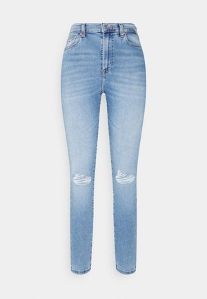 SYLVIA SKINNY ANKLE  - Jeansy Skinny Fit - light blue denim