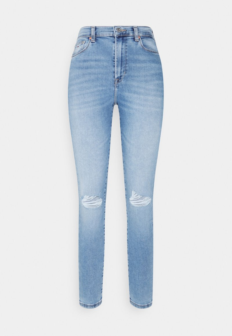 Tommy Jeans - SYLVIA SKINNY ANKLE  - Jeans Skinny - light blue denim