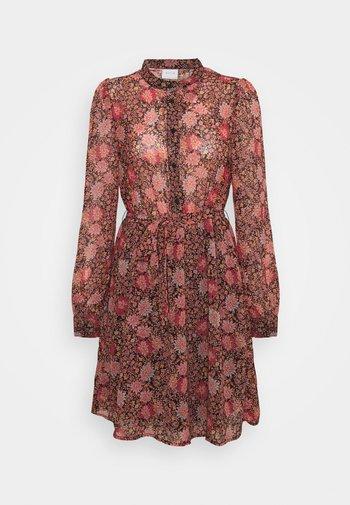 VIREGITZE SHORT DRESS - Skjortekjole - old rose