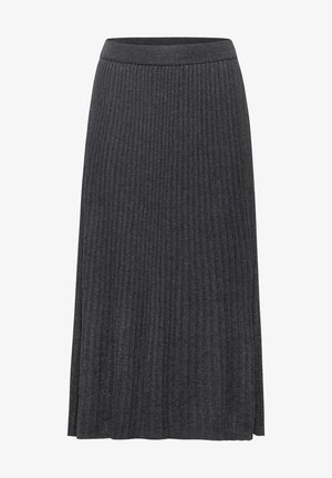 Pleated skirt - grau